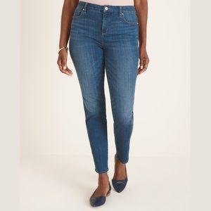 CHICOS SO SLIMMING GIRLFRIEND ANKLE JEANS
